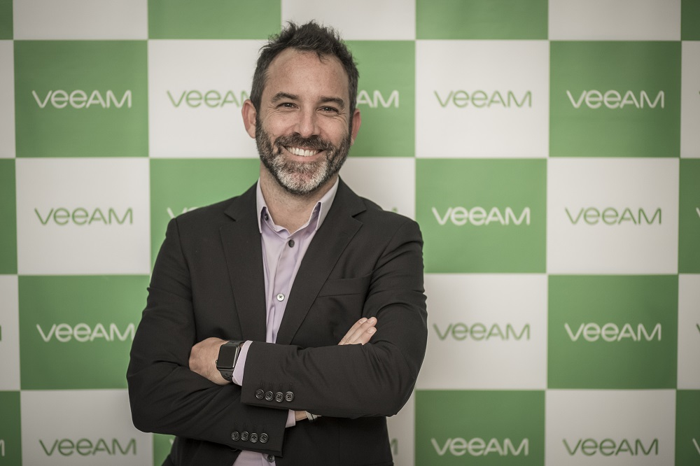 Jan Ryniewicz Director de MKT Veeam Latam baja