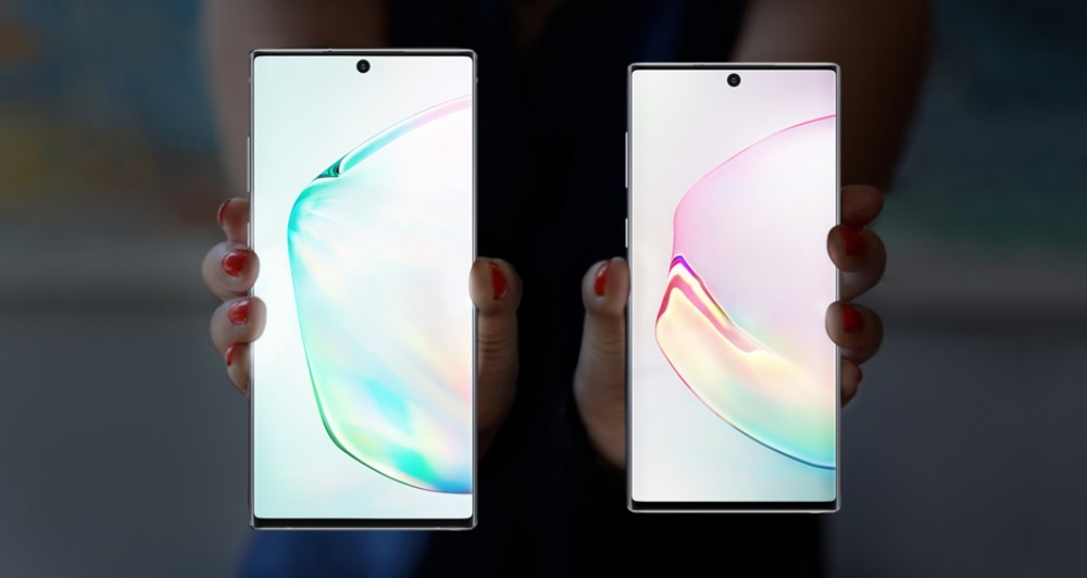 galaxy note 10 diseño